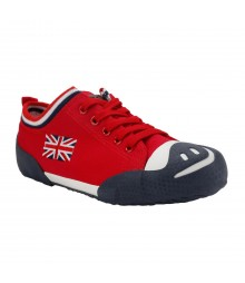 Vostro Men Casual Shoes Aero06 Red VCS0434